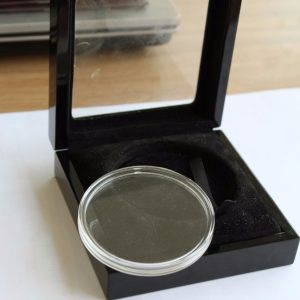 black-wood-coin-box-with-clear-window-and-plastic-tray-01