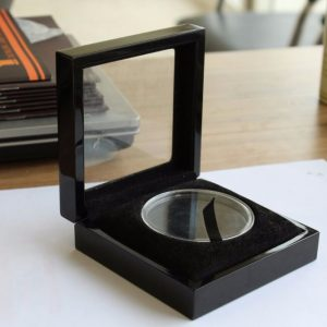 black-wood-coin-box-with-clear-window-and-plastic-tray-03